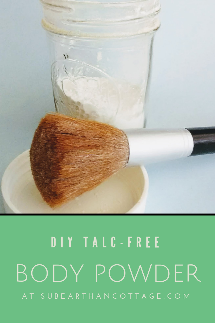 DIY Body Powder SubEarthan Cottage